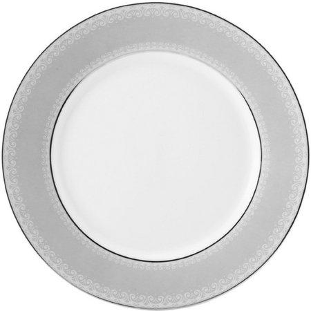 Mikasa Platinum Crown Round Accent Plate
