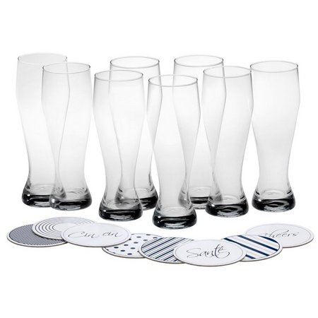 Mikasa Cheers 8-pc. Wheat Beer Glass Set