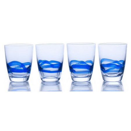 Mikasa Admiral Cobalt 4-pc. DOF Glass Set