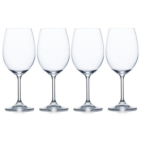 Mikasa Laura 4-pc. White Wine Glass Set