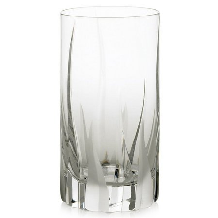 Mikasa Flame D'amore Crystal Highball Glass