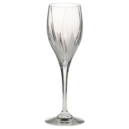 Mikasa Flame D'amore Crystal Wine Glass