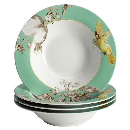 Bonjour 4-pc Fruitful Nectar Soup & Pasta Bowl