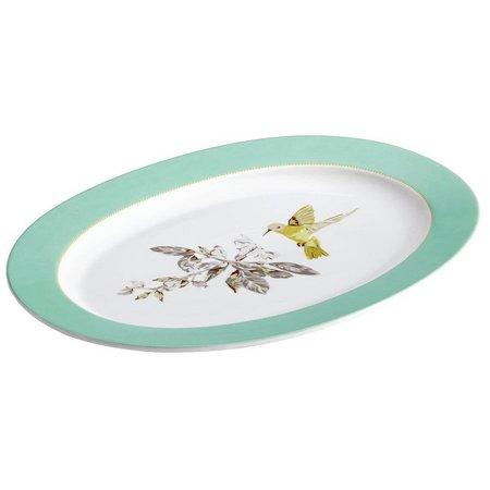 Bonjour Fruitful Nectar 10'' x 14'' Oval Platter