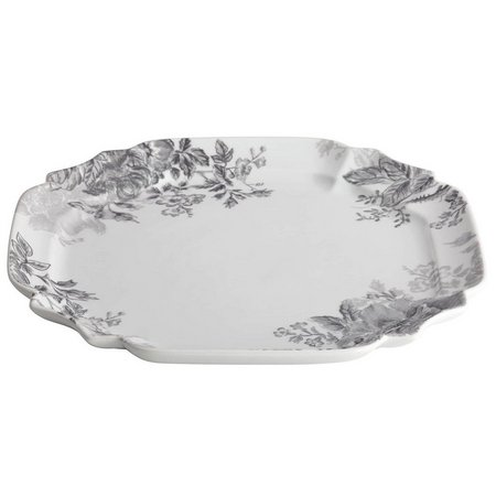 Bonjour 13.25'' Shaded Garden Square Platter
