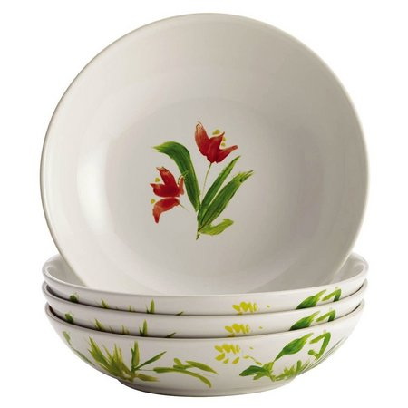 BonJour 4-pc. Meadow Rooster Fruit Bowl Set