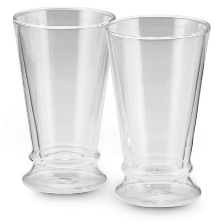 BonJour 2-pc. 12 oz. Insulated Latte Glass Set