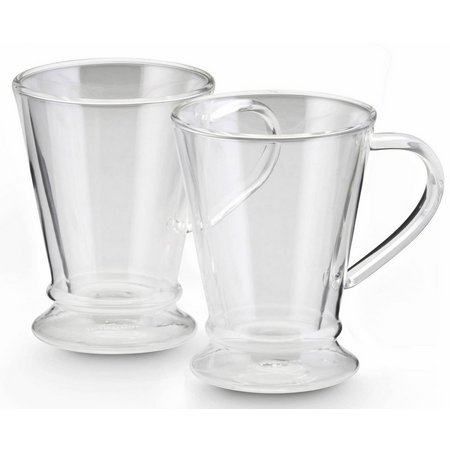 BonJour 2-pc. 10 oz. Insulated Latte Glass Set