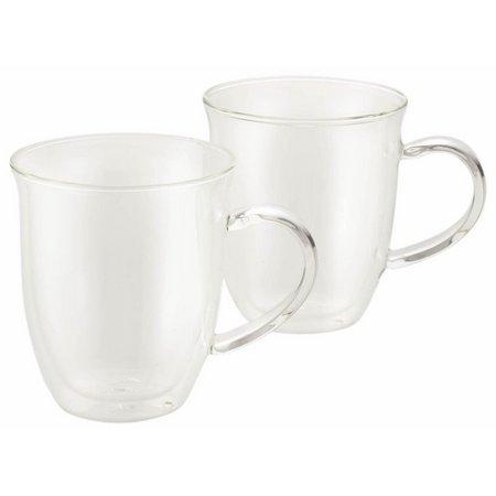 BonJour 2-pc. Insulate Glass Espresso Cup Set