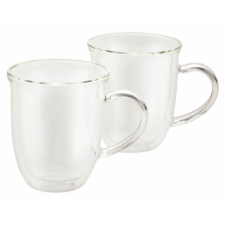 BonJour 2-pc. Insulated Glass Cappuccino Cup Set