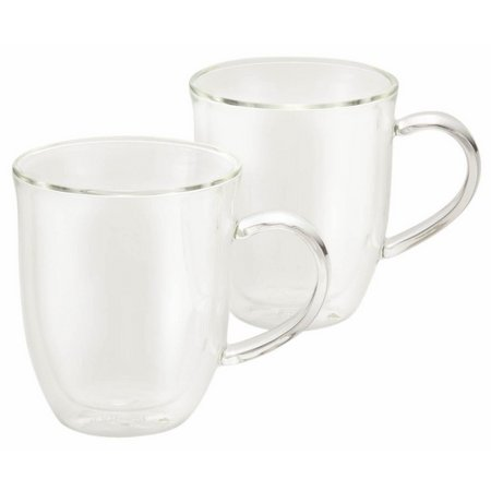 BonJour 2-pc. Insulated Glass Latte Cup Set