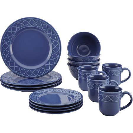Paula Deen Savannah Trellis 16-pc. Dinnerware Set