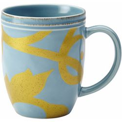 Rachael Ray Gold Scroll 12 oz. Mug