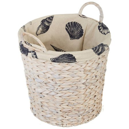 Midwest-CBK Small Seagrass Round Basket With Handles