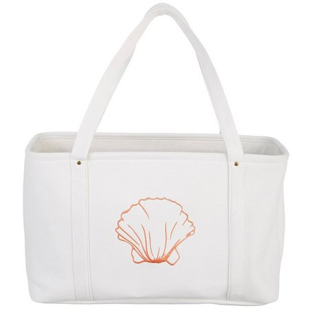 Enchante Shell Print Laundry Tote