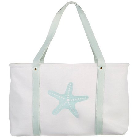 Enchante Starfish Print Laundry Tote