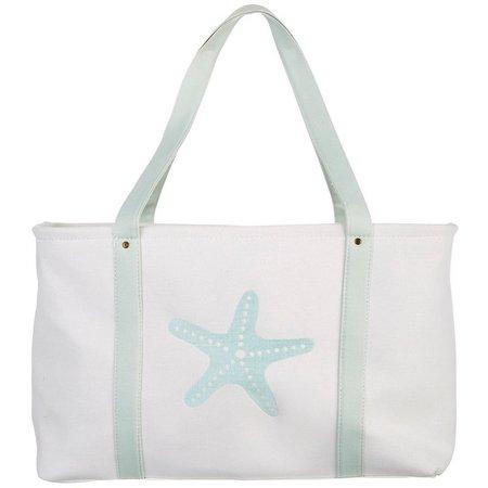 Enchante Starfish Print Laundry Tote
