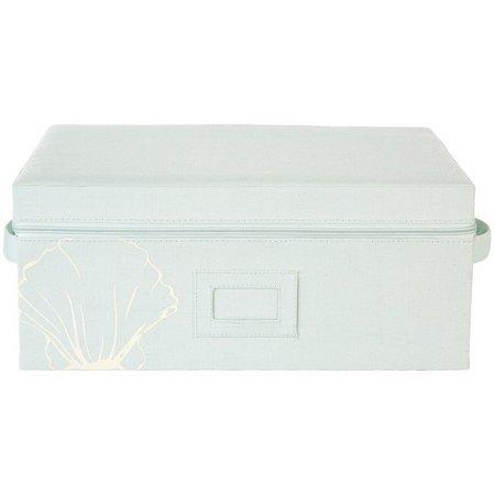 Enchante 16'' Shell Zippered Storage Box