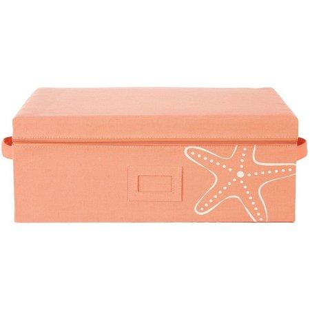 Enchante 19'' Starfish Zippered Storage Box
