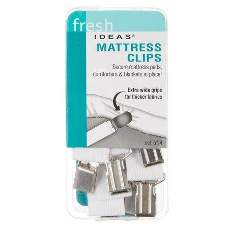 Fresh Ideas 4-pc. Mattress Clip Set