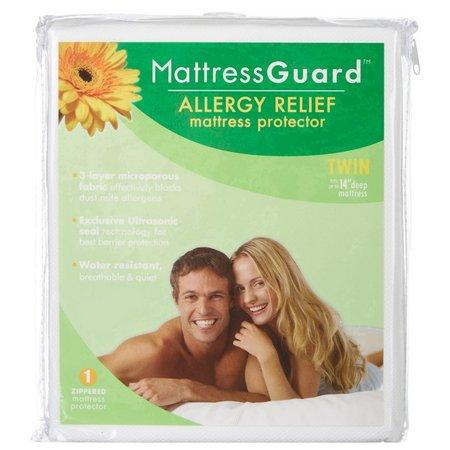 Fresh Ideas Mattress Guard Allergy Relief Mattress Protector