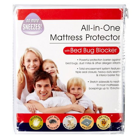 Fresh Ideas All-In-One Mattress Protector