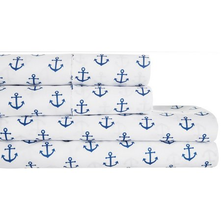 New! S.L. Home Fashions Anchor Sheet Set