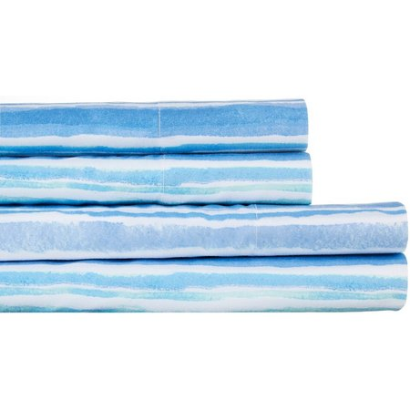 By The Seashore Waves Sheet Set