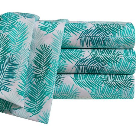 By The Seashore Blue Tropics Sheet Set