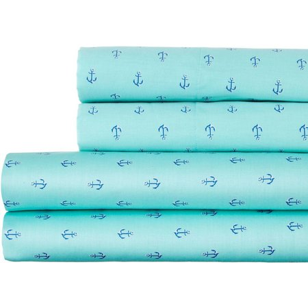 Coastal Life 300TC Anchor Print Sheet Set
