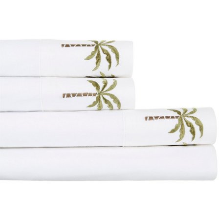 Panama Jack Percale Palm Tree Sheet Set