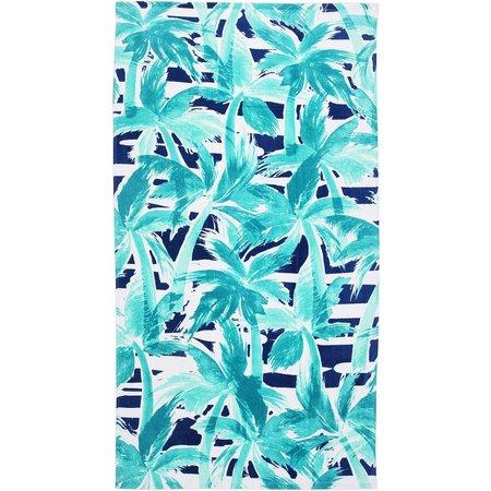 Tropix Beachcomber Palm Tree Beach Towel
