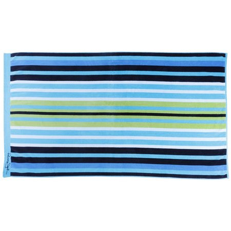 Panama Jack Bermuda Stripe Beach Towel