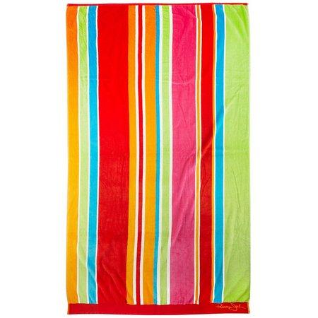 Panama Jack Zanzibar Stripe Beach Towel