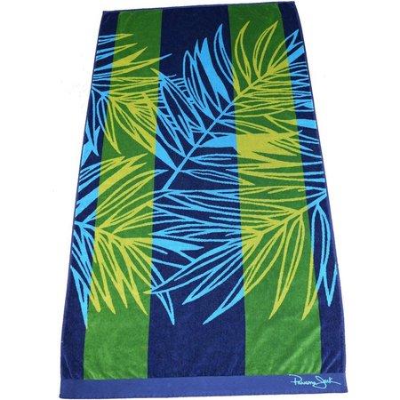Panama Jack Tropical Leaf Beach Towel