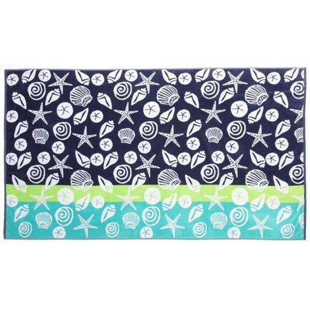 Panama Jack Seashells Beach Towel
