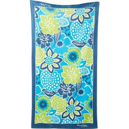 Panama Jack Blue Breeze Beach Towel