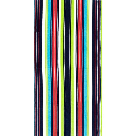 St. Tropez Marine Coast Stripe Beach Towel