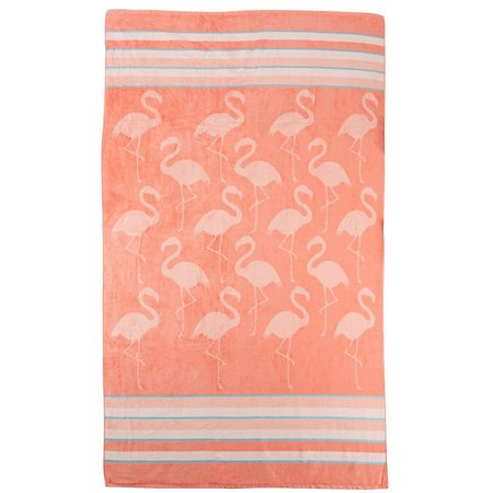 Caro Home Flamingo Beach Towel