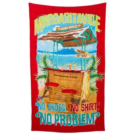 Margaritaville Jacquard No Problem Beach Towel