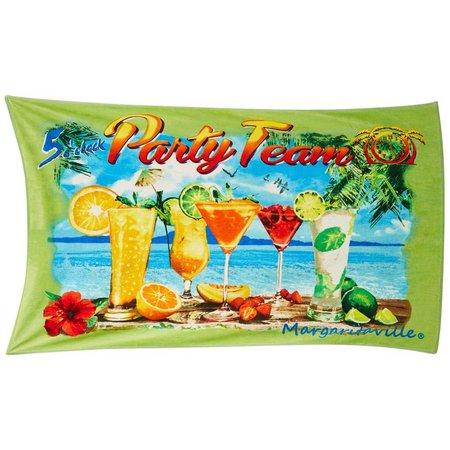 Margaritaville Jacquard Party Team Beach Towel