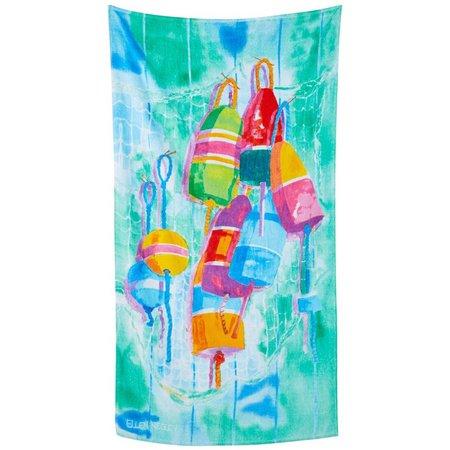 Ellen Negley Oh Buoy Beach Towel