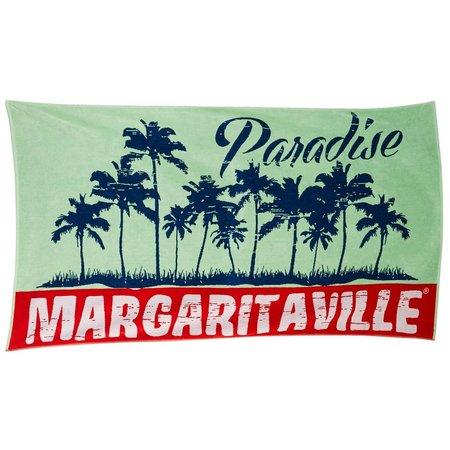 Margaritaville Jacquard Paradise Beach Towel