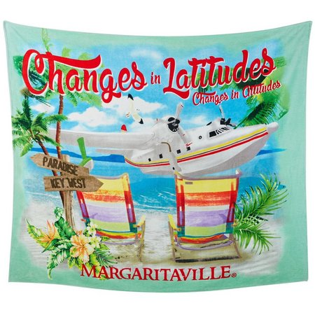 Margaritaville Jacquard Latitude Chair Beach Towel