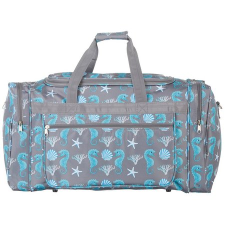April Fashion Island Seahorse Serenade Duffel Bag