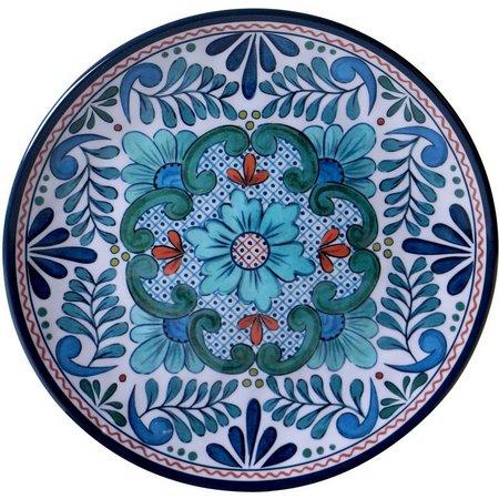 Certified International Talavera Salad Plate
