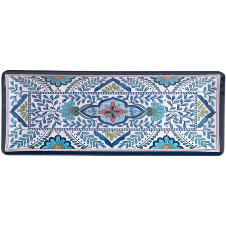 Certified International Talavera Rectangular Plate