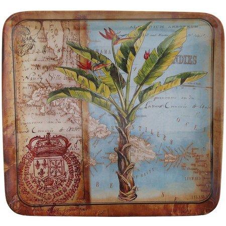 Certified International Palm Salad Plate