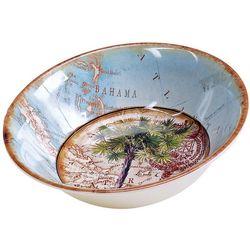 Certified International Palm Bowl