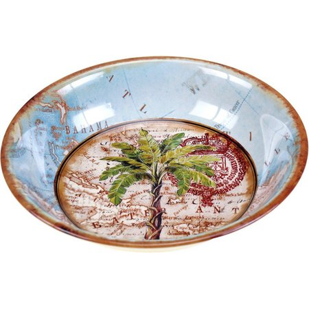 Certified International Palm Serving Bowl